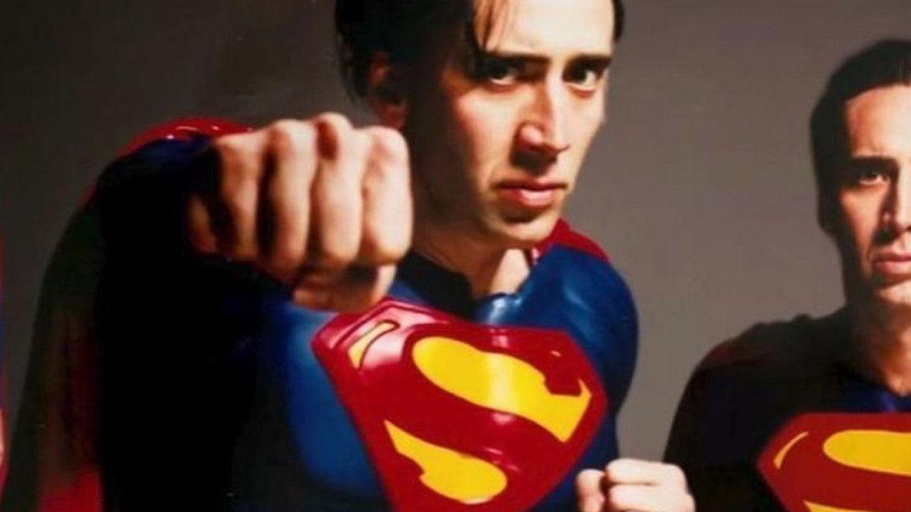 Flash, ecco che aspetto potrebbe avere il Superman di Nicolas Cage nel film