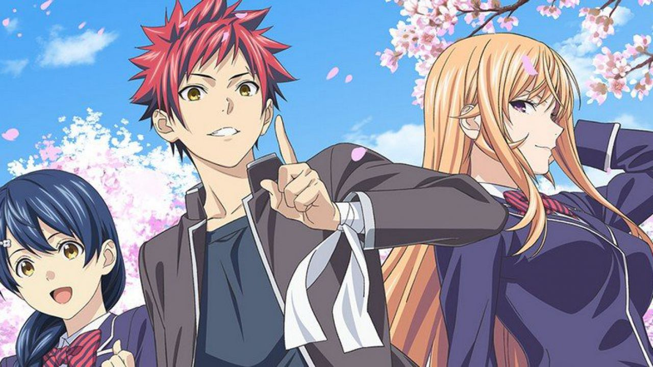 Food Wars 5 riprende la trasmissione il 3 luglio, è il primo anime a tornare dopo il Covid