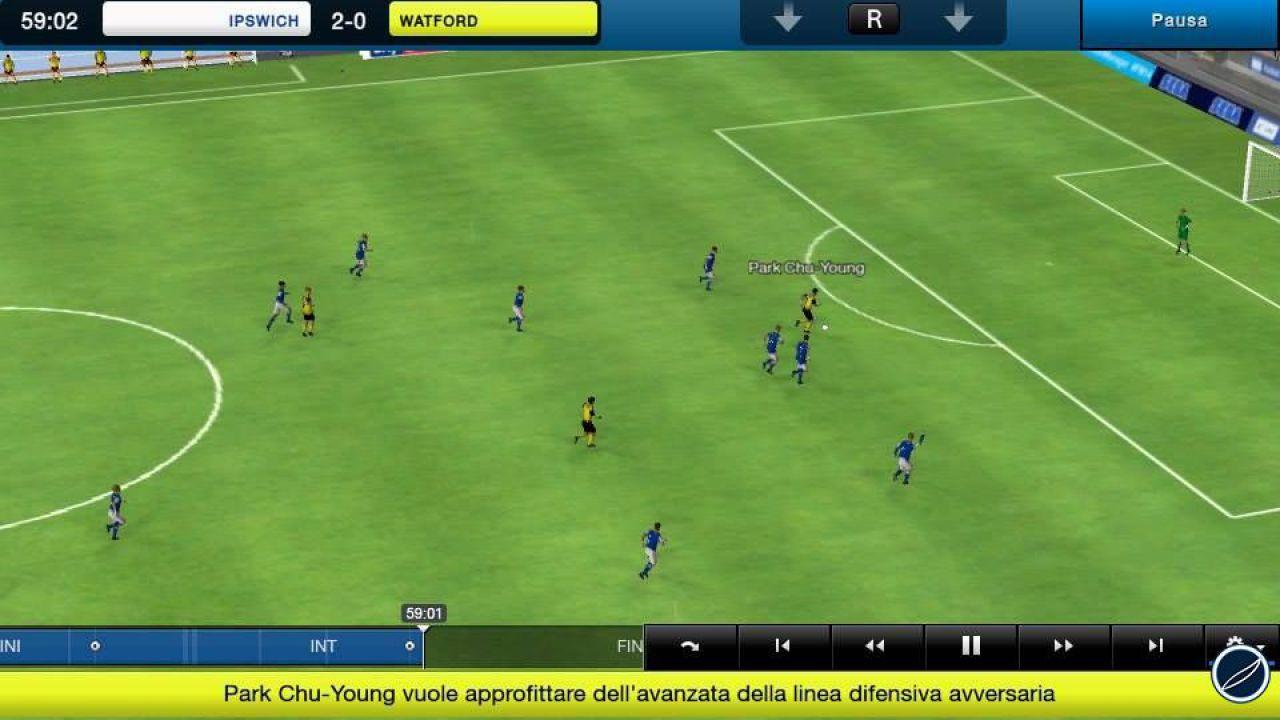 Football Manager 2014: aggiornamento per la versione iOS