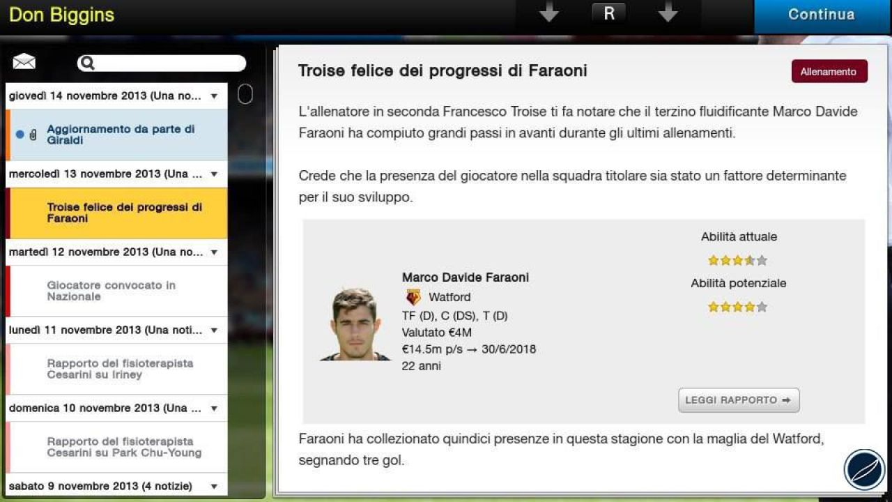 Football Manager 2014 in offerta su Steam