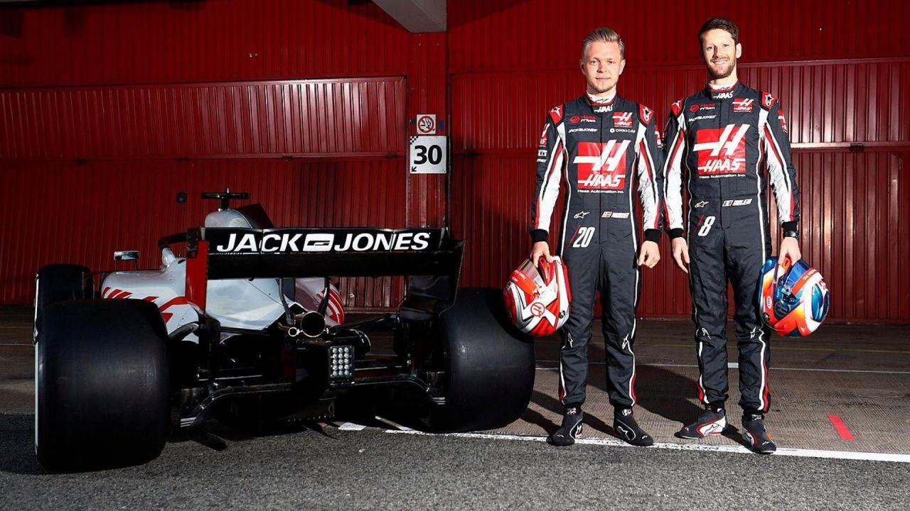 Formula 1: la Haas conferma Magnussen e Grosjean per la prossima stagione