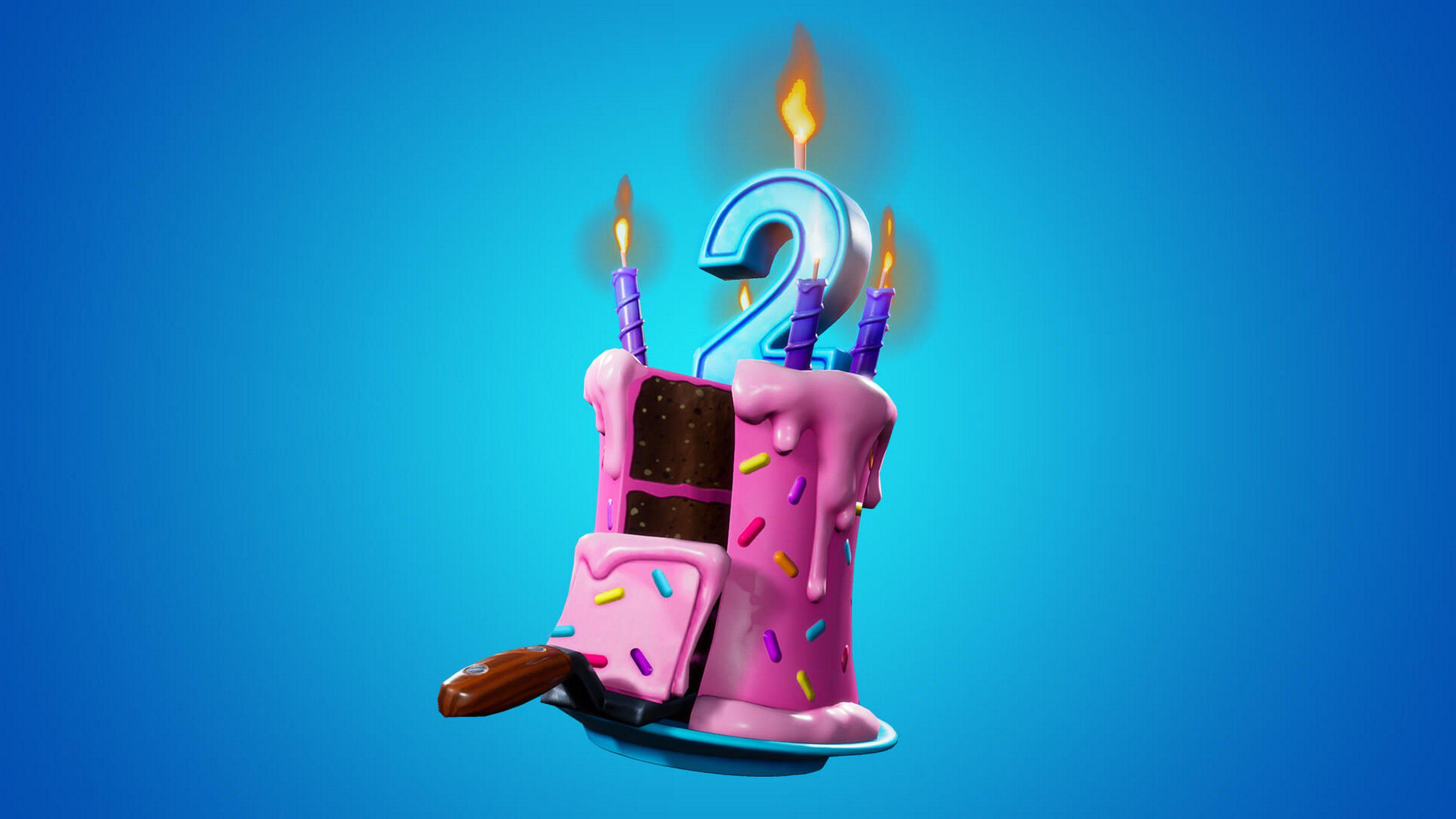 Fortnite 9.41 Regali e Torta di Compleanno per festeggiare i 2 anni del  battle royale