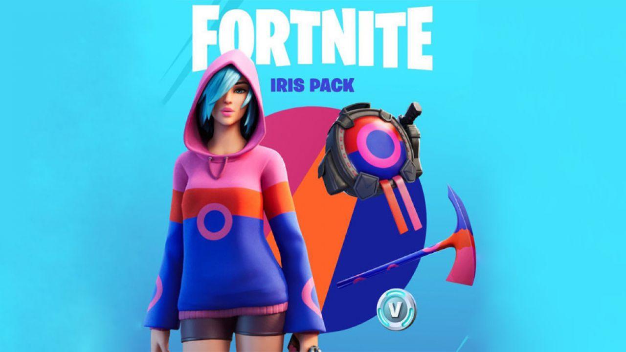 Fortnite, è in arrivo lo Starter Pack della Stagione 2: skin Iris, V-Buck e altro