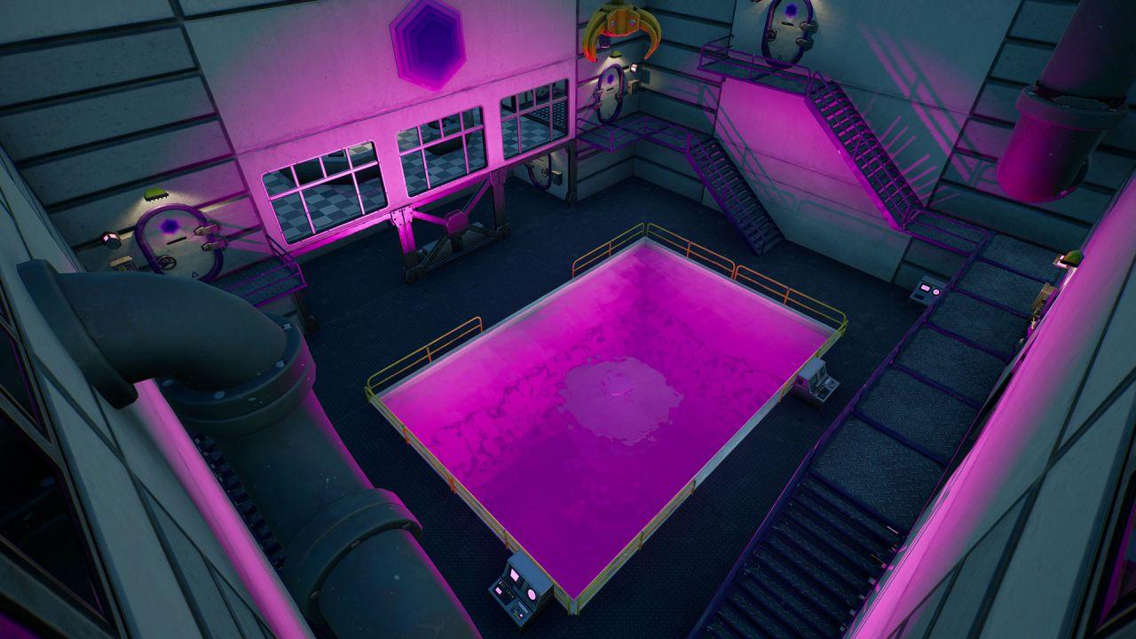 Fortnite: come immergersi nella piscina viola a Foschi Fumaioli
