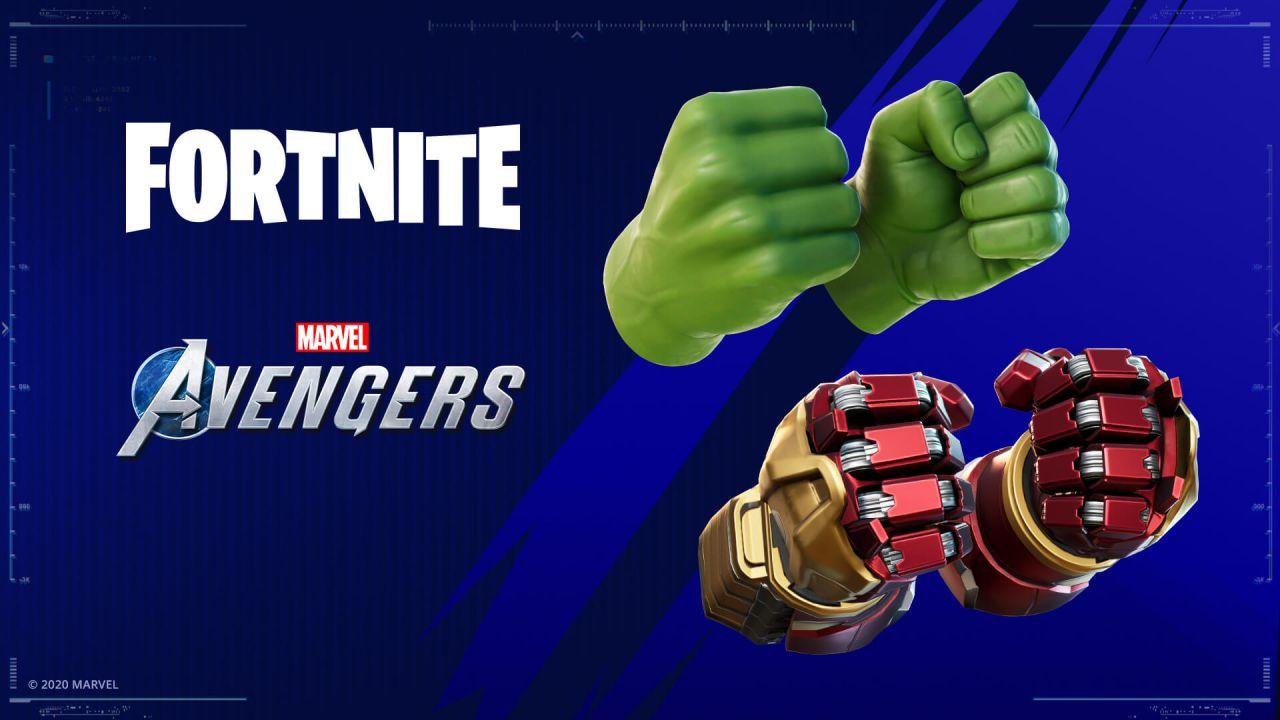 Fortnite: come sbloccare il piccone Spacca-pugni di Hulk con la beta di Marvel's Avengers