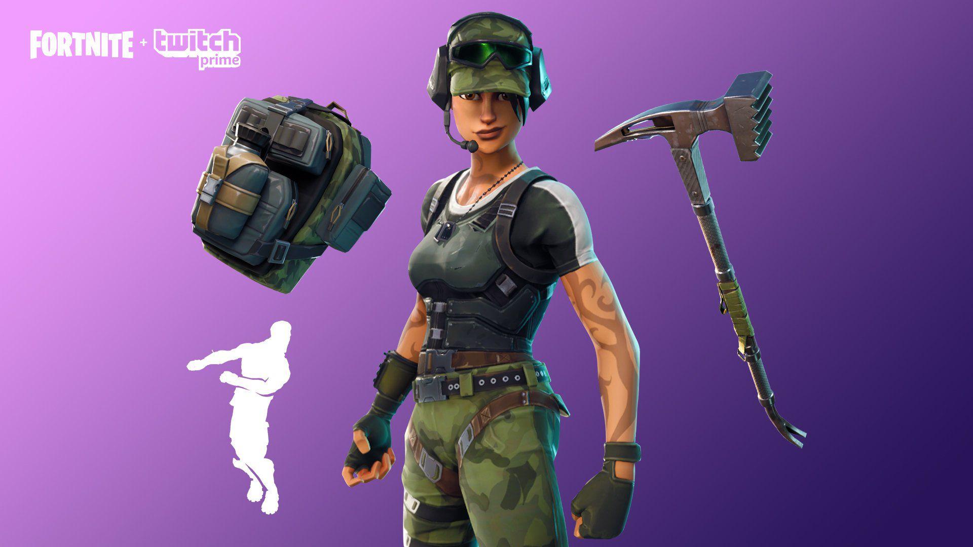 Fortnite Come Scaricare Il Twitch Prime Pack 2 Con Skin E Oggetti