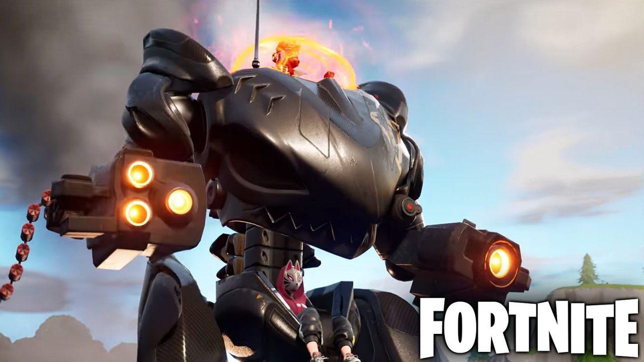 Fortnite: un grave glitch legato al BRUTO permette di vincere la partita