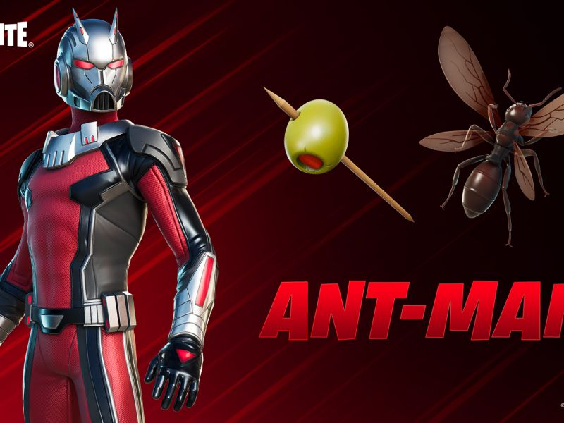 Fortnite: after months of rumors, the Ant-Man skin has finally arrived