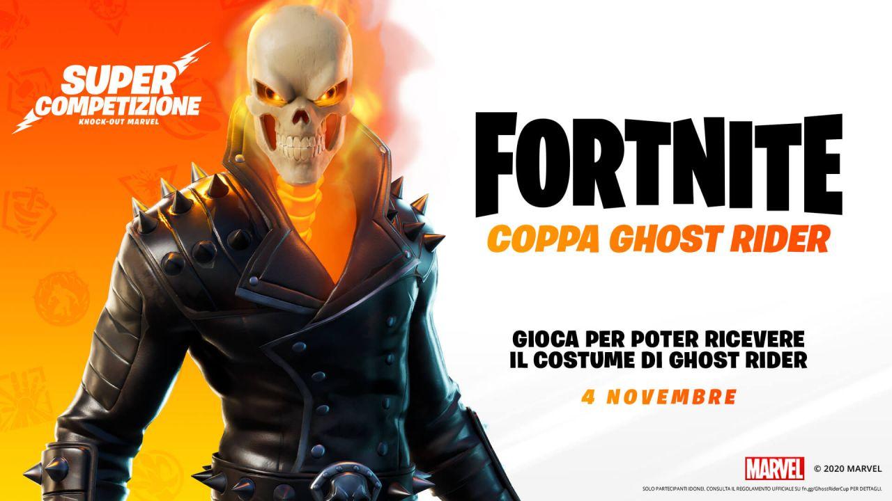 Fortnite, skin Ghost Rider: come sbloccare il costume gratis
