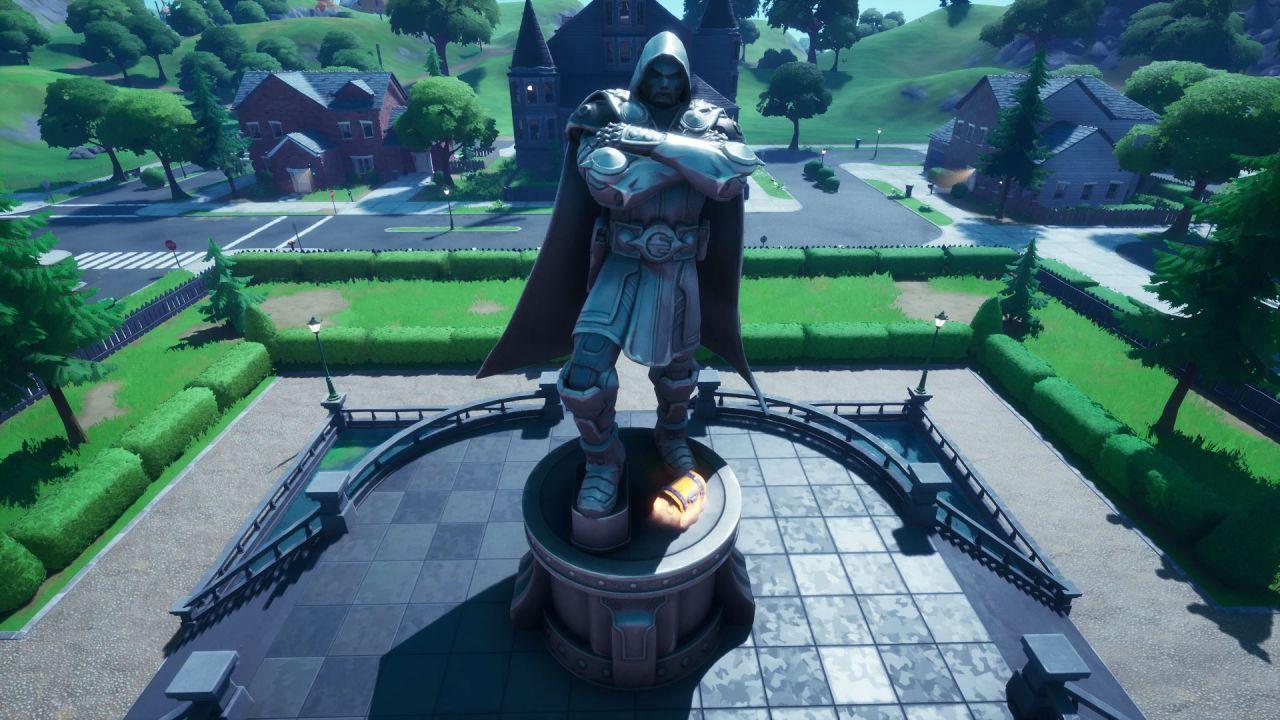 Fortnite, Stagione 4: come visitare una statua di Doctor Doom