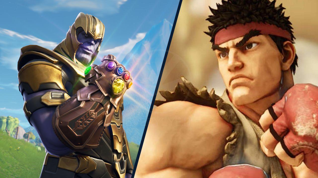 Fortnite: Street Fighter arriva con il nuovo portale, probabile la skin di Thanos