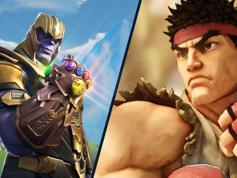 Fortnite: Street Fighter arrives with the new portal, probable the skin of Thanos