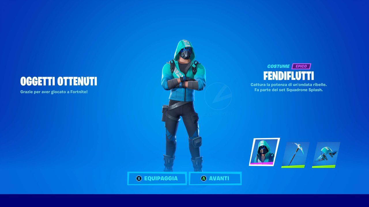 Fortnite X Intel: come sbloccare gratis l'esclusiva skin Fendiflutti