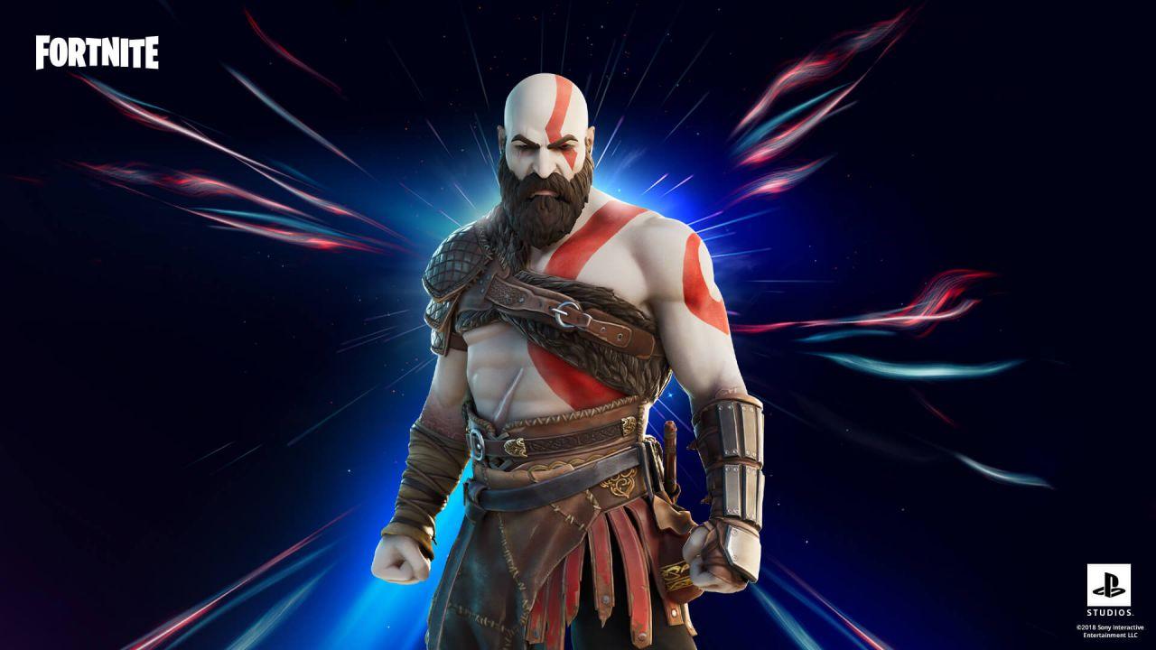 Fortnite X Kratos e Master Chief: i protagonisti di Halo e God of War tornano disponibili