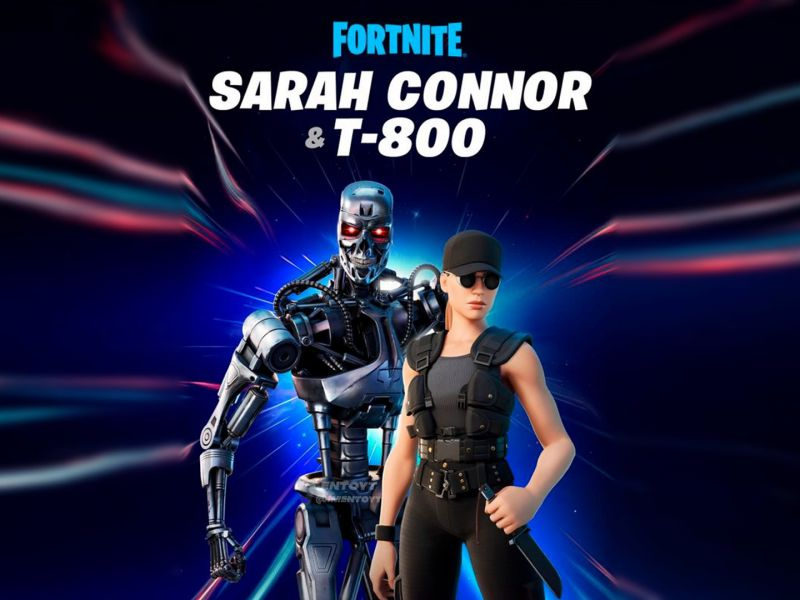Fortnite x Terminator: Terminator T-800 and Sarah Connor now available