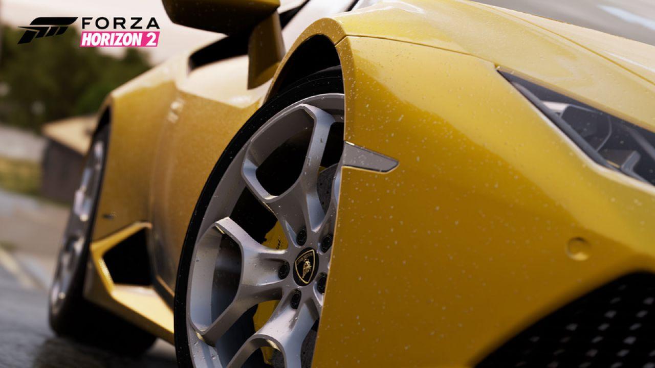 Forza Horizon 2 su Xbox 360 sarà più piccolo