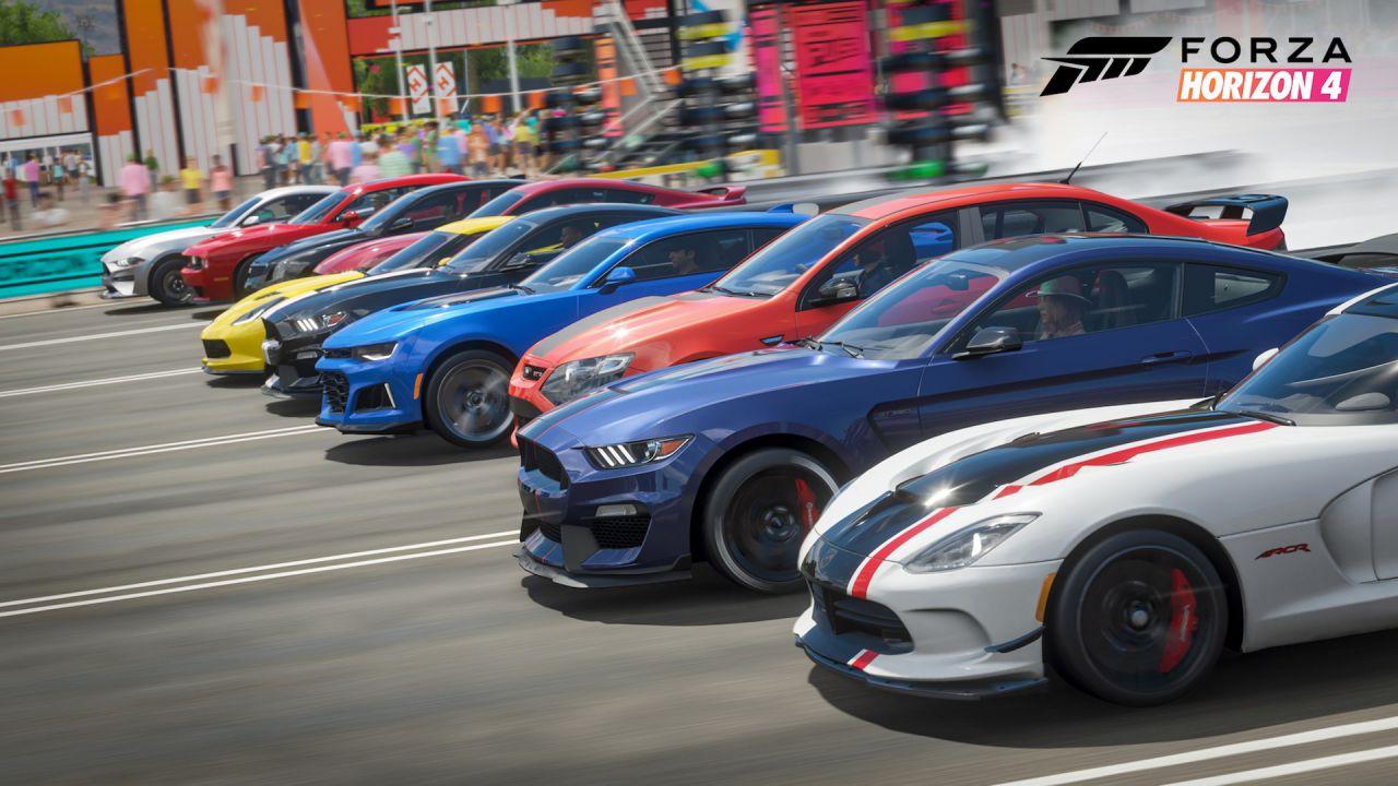 Forza Horizon 4 continua a evolversi: in arrivo un'espansione con 100 auto?