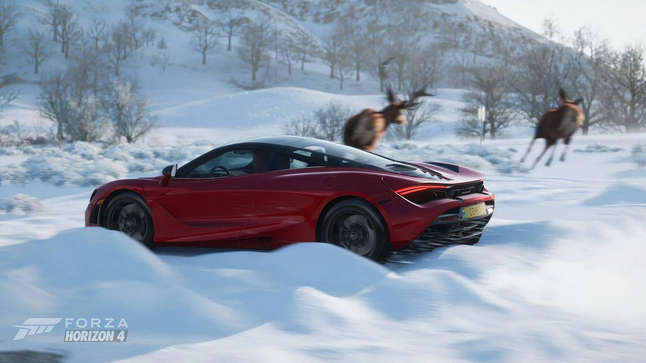 Forza Horizon 4: in regalo un'auto al giorno per tutto il mese di dicembre