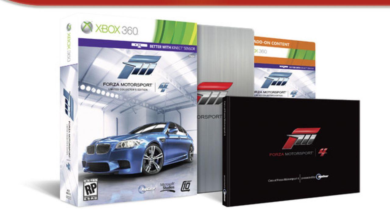 Forza Motorsport 4: annunciato il Pirelli Car Pack