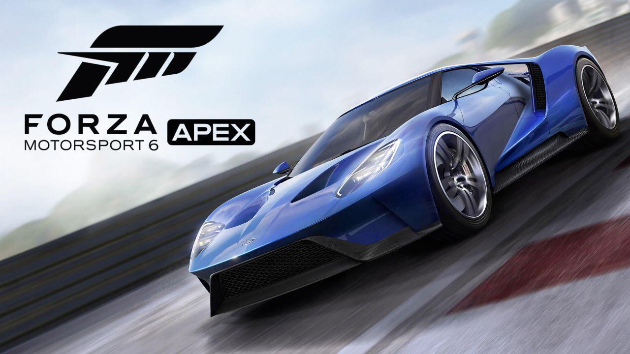 Forza Motorsport 6 Apex: introdotto il supporto ai volanti