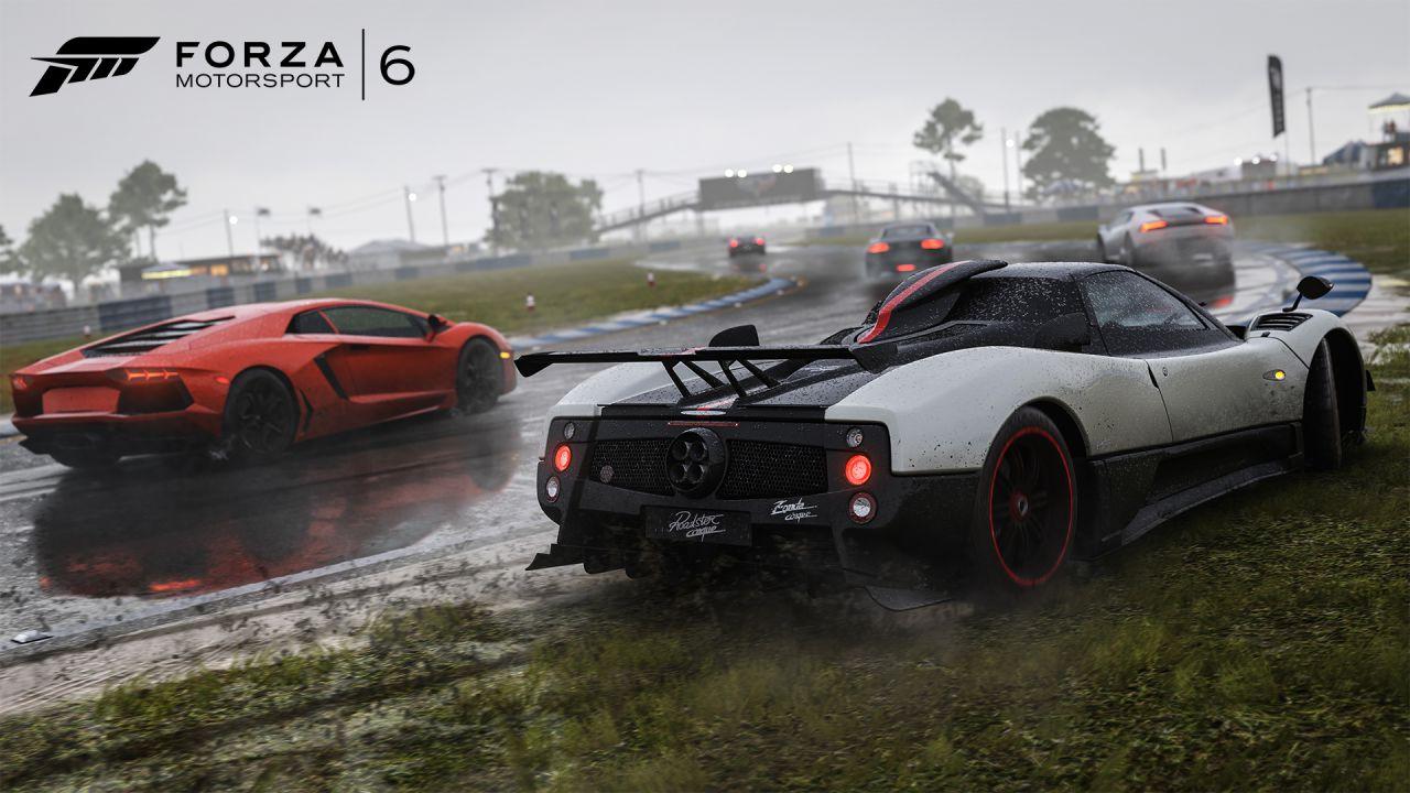 Forza Motorsport 6 con volante Logitech G920 giocato in diretta su Twitch - Replica Live 16/09/2015