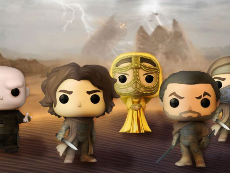 Funko Pop !: Dune, Star Wars a Dragon Ball, book the news of 2021 from GameStopZing