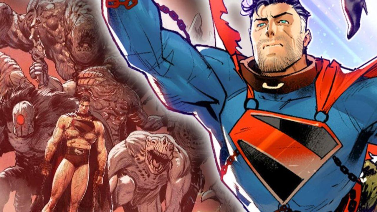 Future State Superman: Worlds of War, l'Uomo d'Acciaio è sottoposto a una folle tortura
