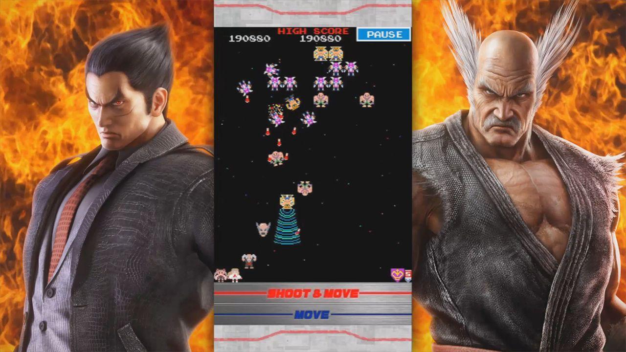 Galaga Tekken 20th Anniversary Edition disponibile su App Store e Google Play