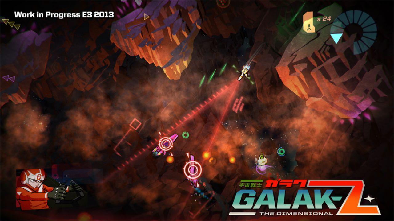 Galak-Z: annunciata la versione PSVita