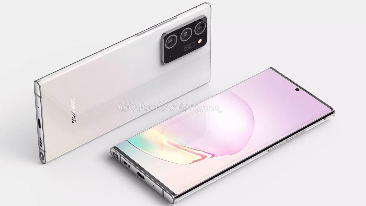 Galaxy Note 20 Ultra, compare a sorpresa online la scheda tecnica