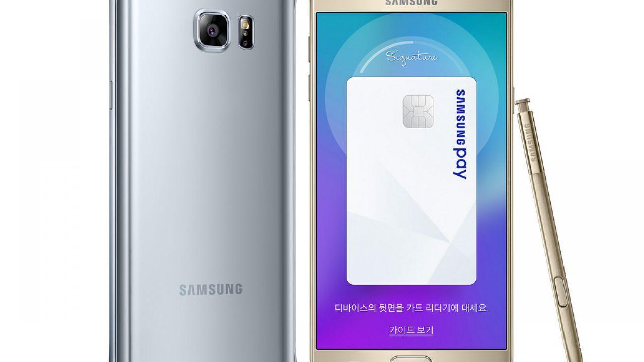 Galaxy Note 5: disponibile in Corea del Sud la versione con 128 gigabyte di storage interno