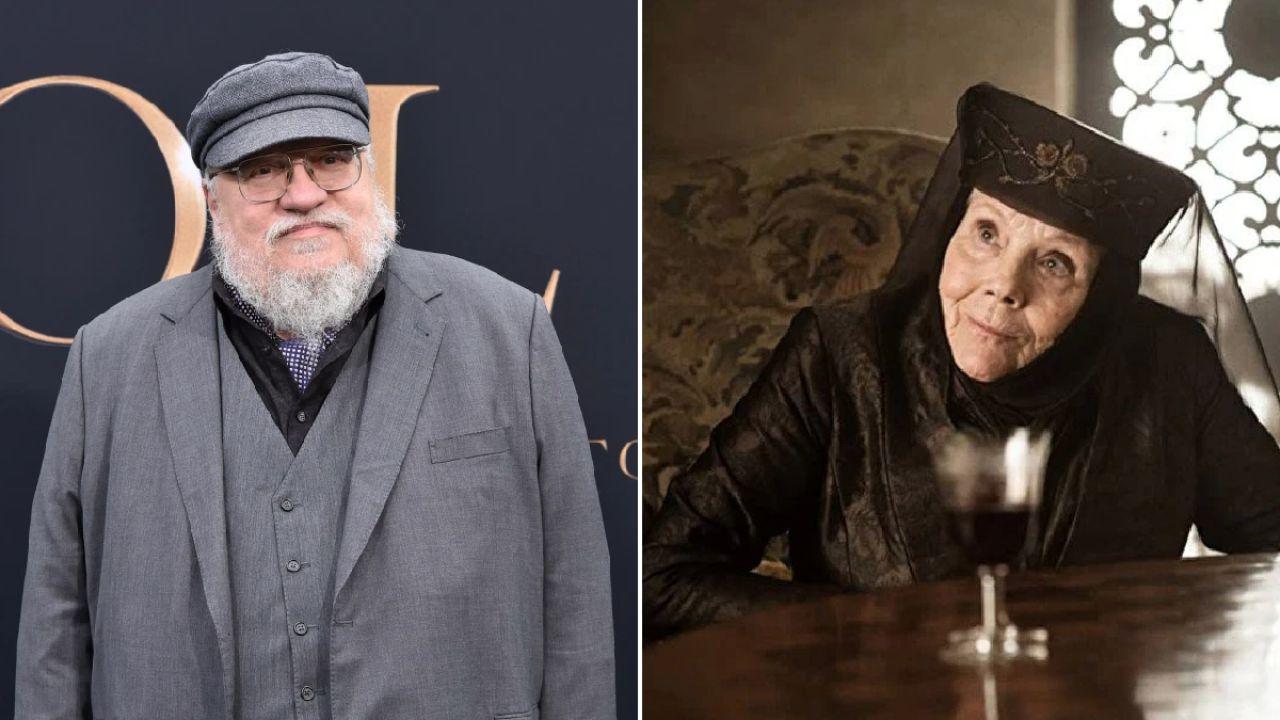 Game of Thrones: il commovente addio di George R.R. Martin a Diana Rigg