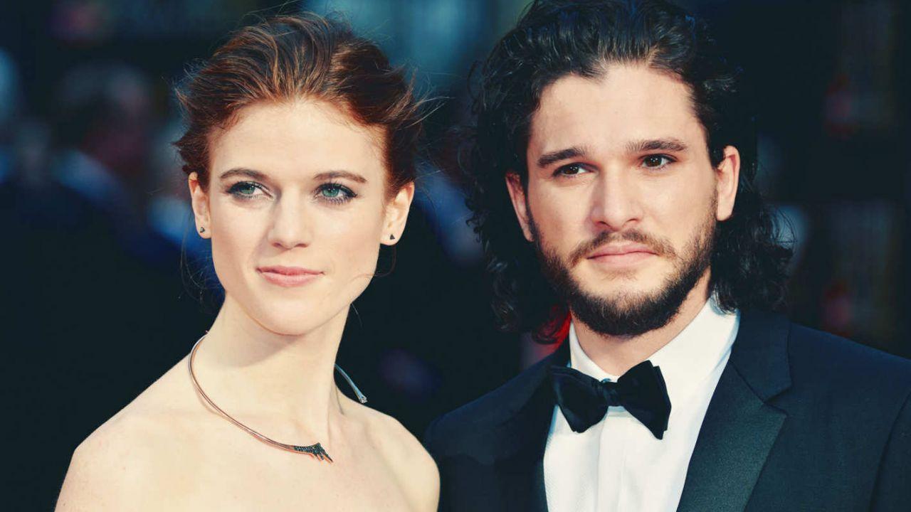 Matrimonio Tema Game Of Thrones : Game of thrones al matrimonio di kit harington sophie