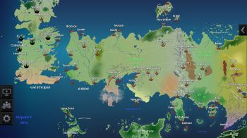 Game of Thrones: su iPad ed Android arriva la mappa interattiva di Westeros