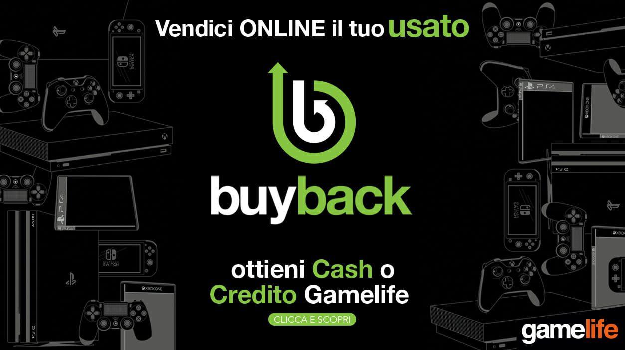 Gamelife presenta Buyback, vendi online i tuoi giochi ...
