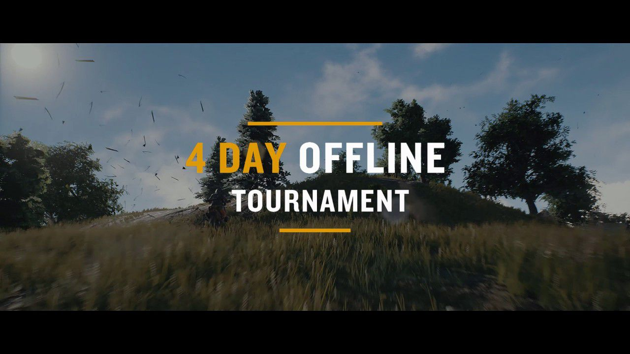 playerunknown's battlegrounds tournament