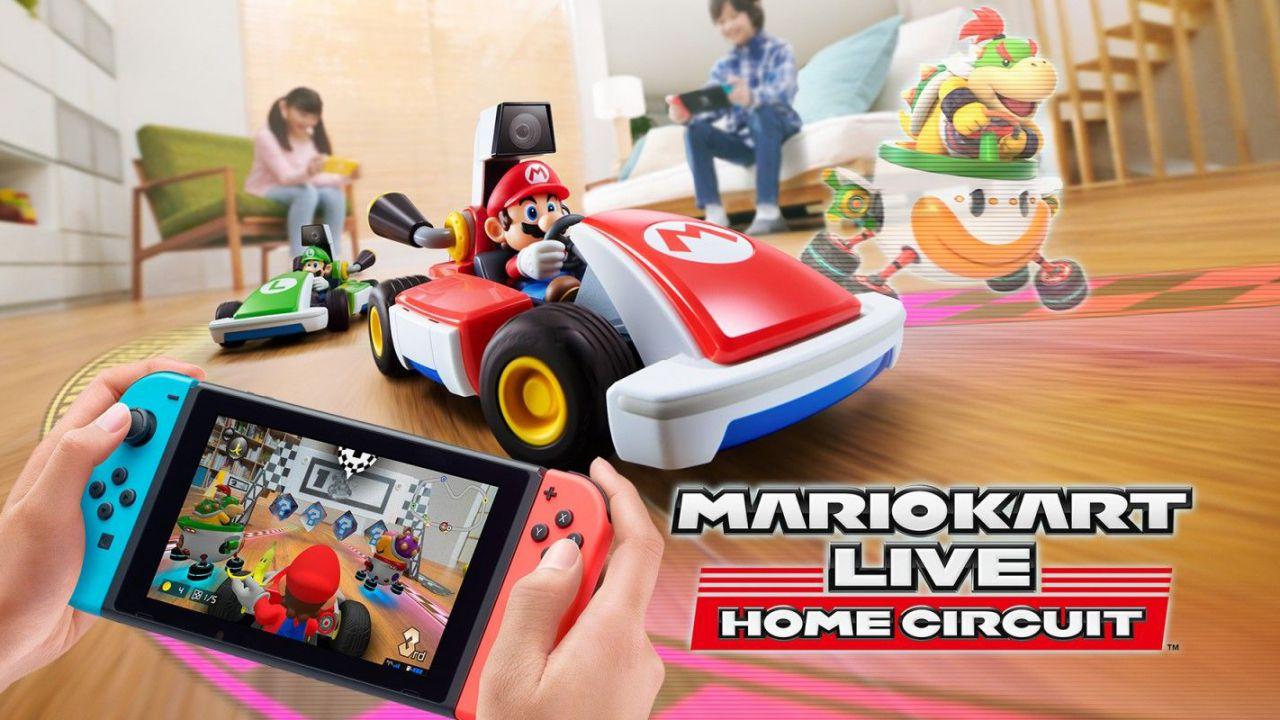 GameStop apre i preordini di Mario Kart Live, Game & Watch e Super Mario 3D World