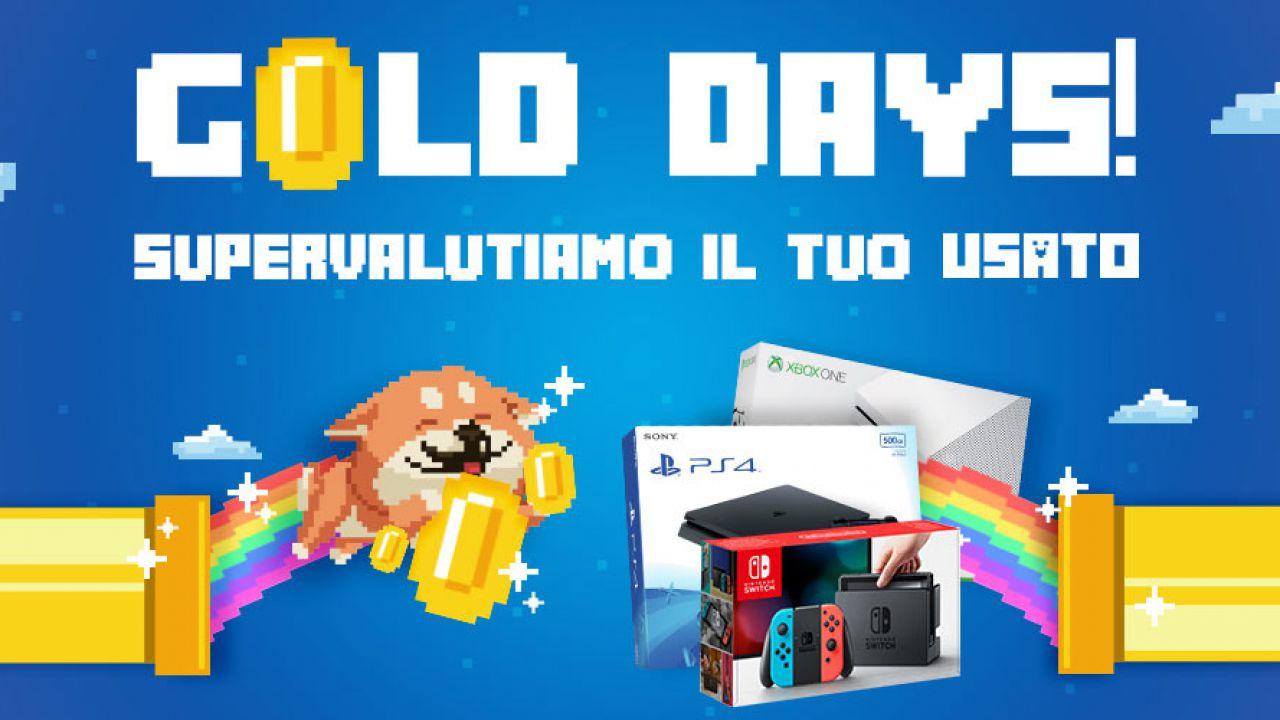 GameStopZing Gold Days: supervalutazione console usate in vista di PS5 e Xbox Series X/S