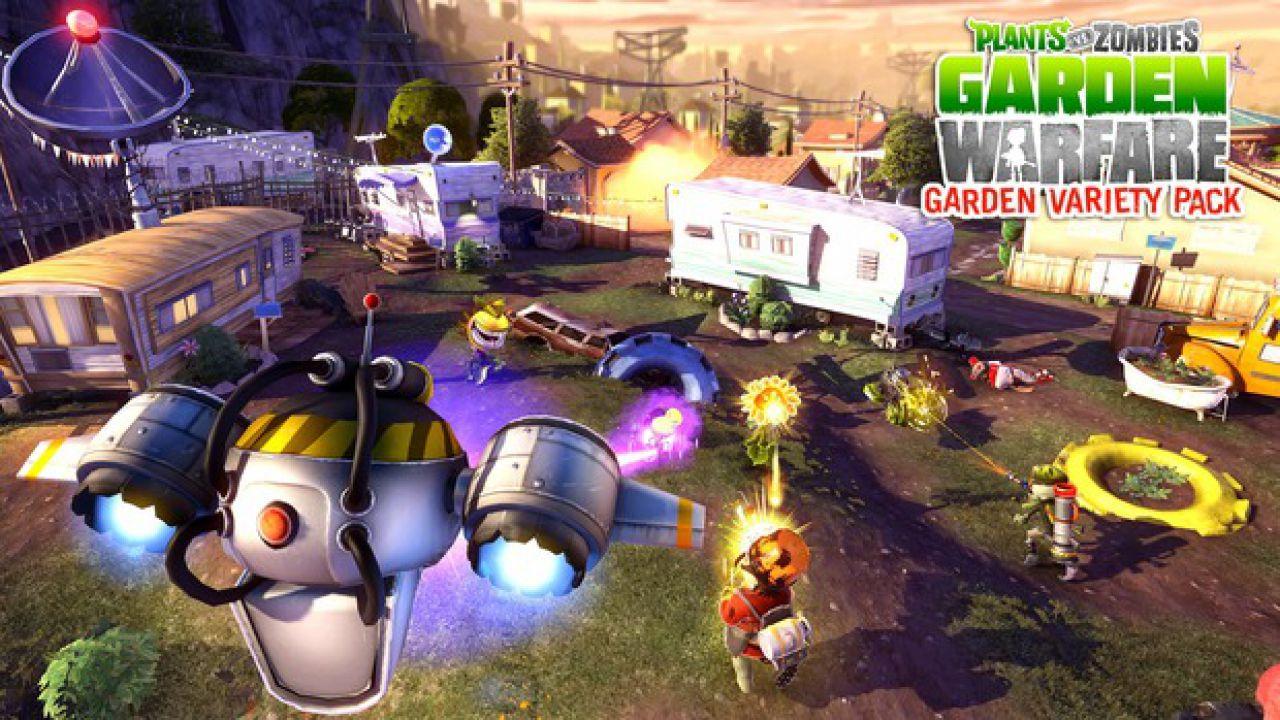 Garden Warfare Plants Vs Zombies: patch per la versione Xbox One