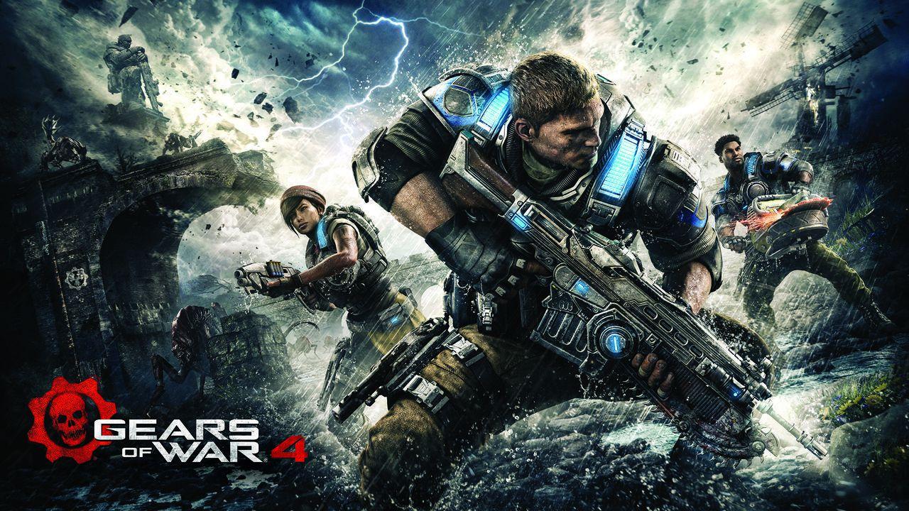 Disponibile da oggi Gears of War 4