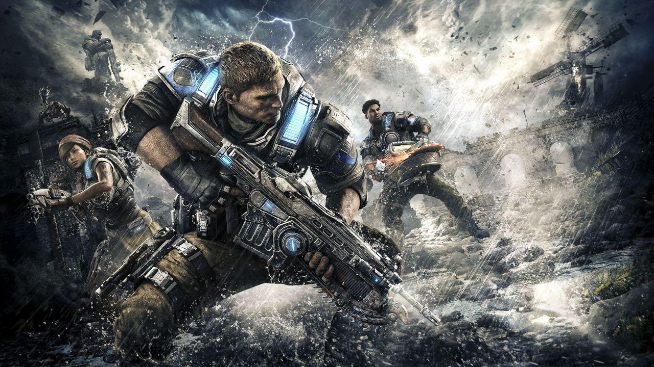 Gears of War 4 supporterà il cross-play solo nelle modalità cooperative