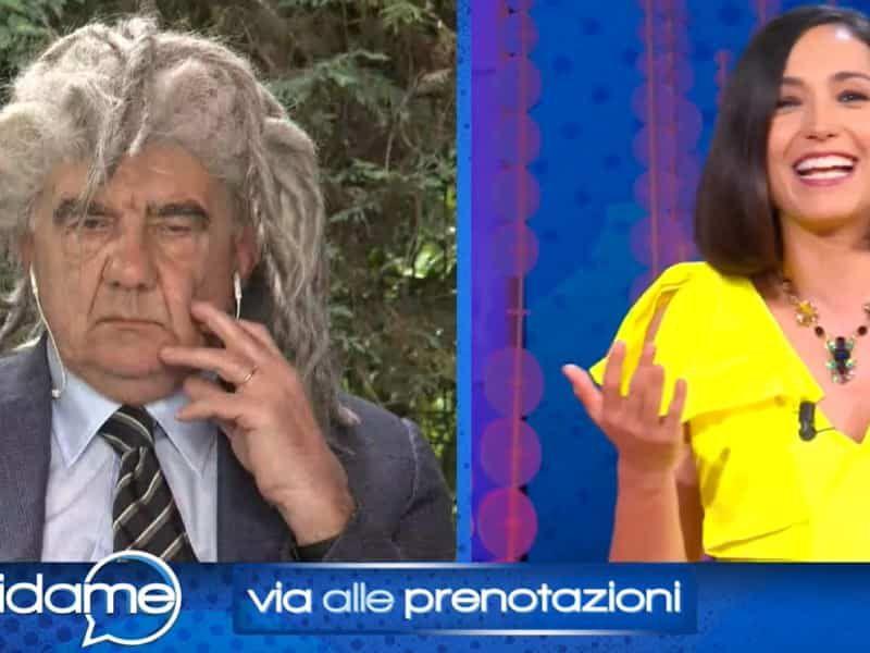 Gene Gnocchi e la gaffe da Caterina Balivo: 'Ho messo gli uccellini finti per te'