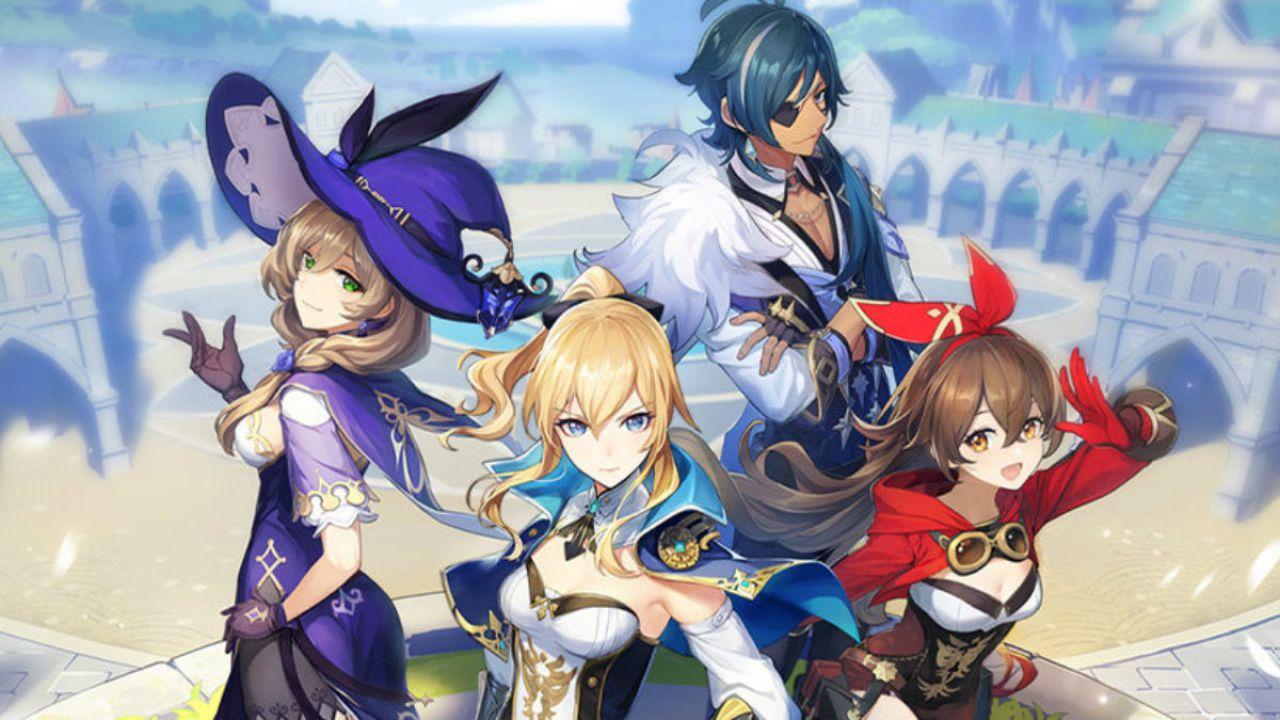 Genshin Impact arriva a settembre: data di lancio per l'action RPG