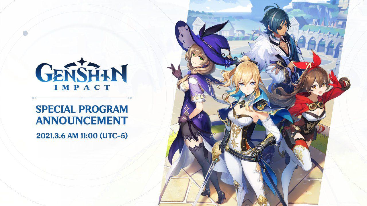 Genshin Impact: il trailer dell'update 1.4 verrà mostrato a breve