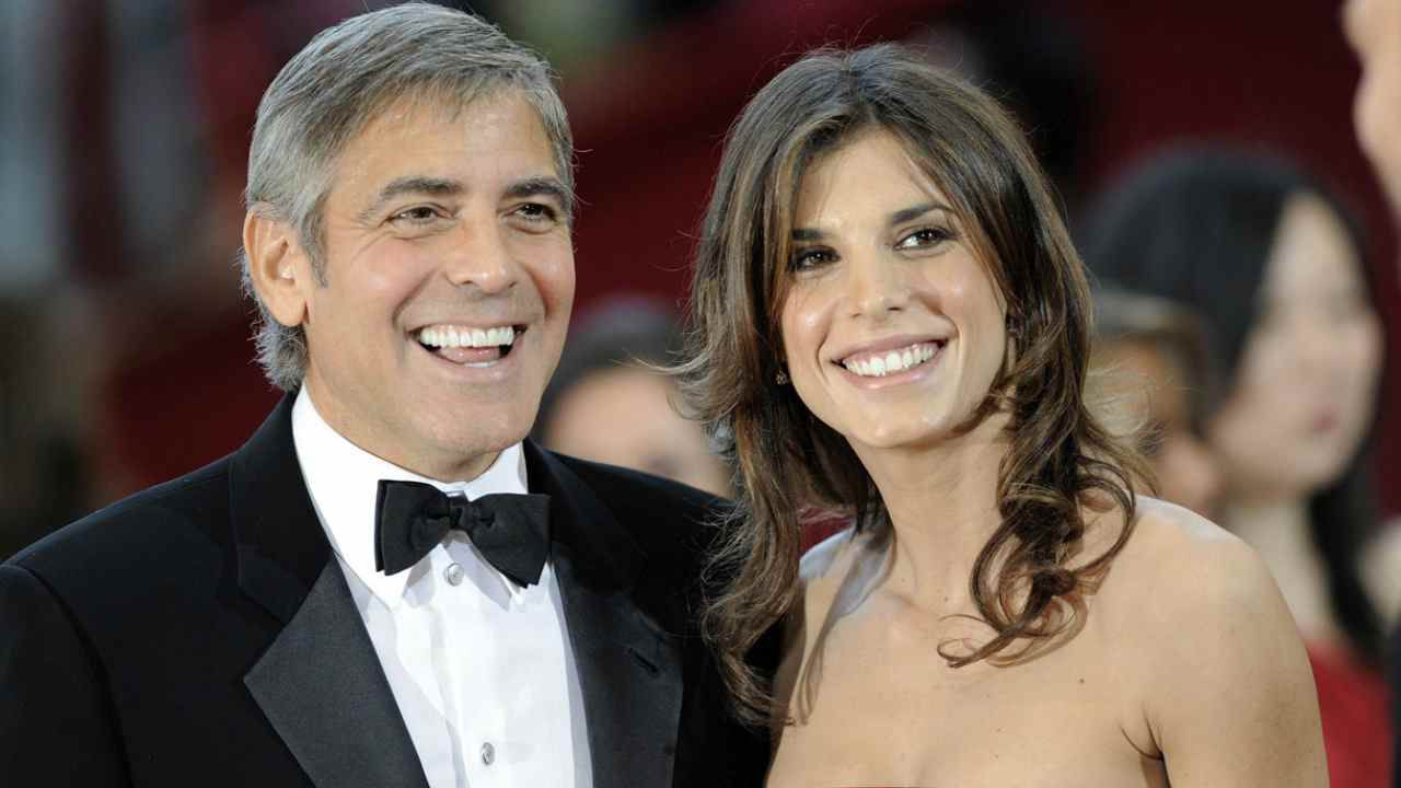 George Clooney su Elisabetta Canalis: 'È stata la donna che mi ha fatto ridere di più'