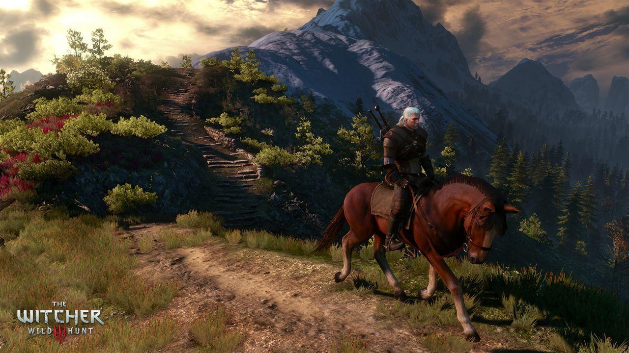 Geralt va a cavallo in queste immagini di The Witcher 3 Wild Hunt