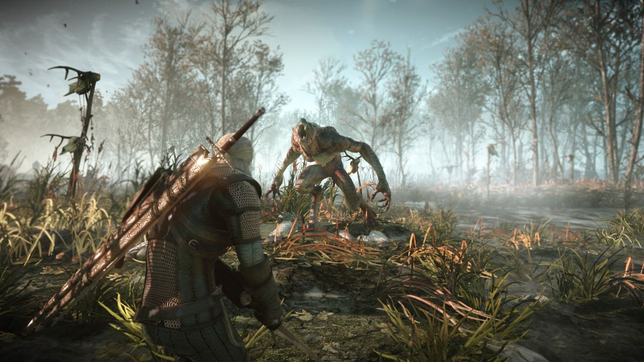 Geralt esplora e combatte nelle nuove immagini di The Witcher 3 Wild Hunt