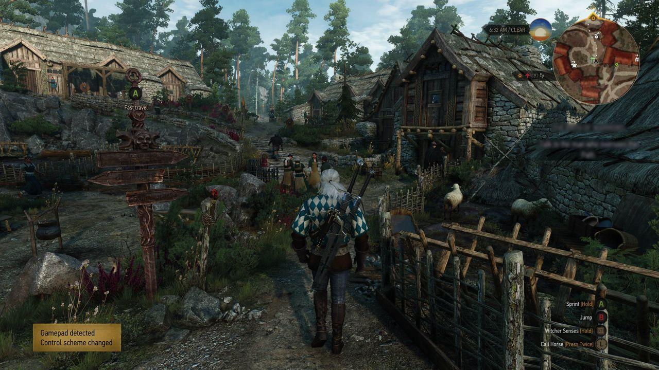 Geralt esplora ogni ambiente in queste immagini di The Witcher 3 Wild Hunt