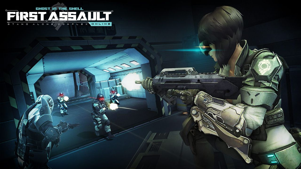 Ghost in the Shell First Assault Online: al via la fase beta
