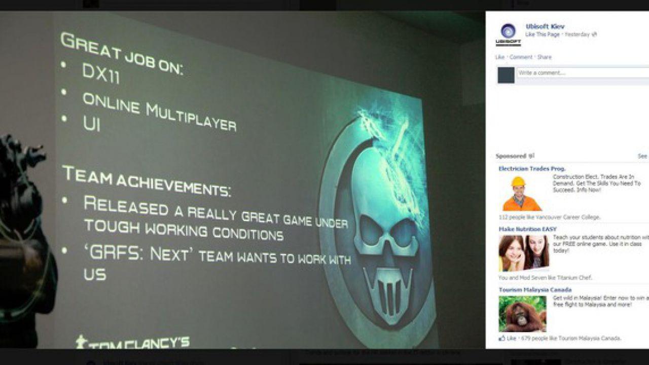 Ghost Recon Future Soldier: disponibile l'update 1.3 su PC